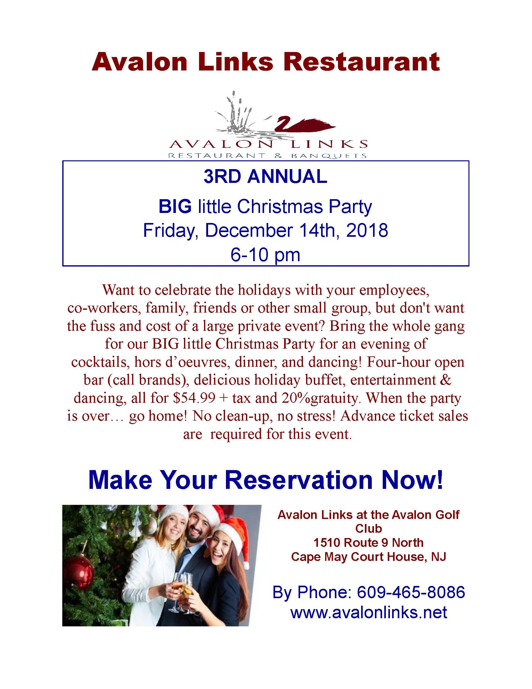 Big Little Christmas Party 2018 Publisher